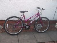 GIRLS LADIES 26INCH MOUNTAIN BIKE