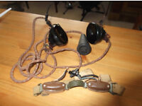 Old WW2 headphones by SG Brown