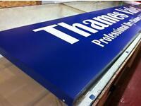 Signs maker, signs shop, van signs, leaflet flayer