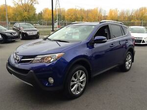 2014 Toyota RAV4 LIMITED AWD MAGS TOIT CUIR NAVIGATION