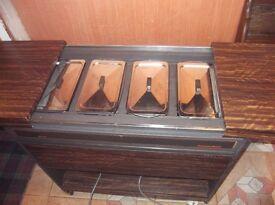 hostess trolley heated keep food hot