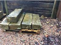Reclaimed stone steps, excellent condition