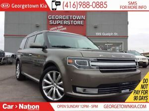 2013 Ford Flex Limited | LEATHER | AWD | SUNROOF | LOW KM |