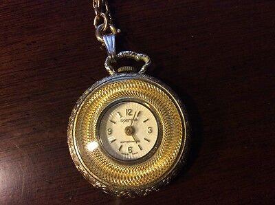 Vintage Lady's  sperina watch pendant - Swiss made - WORKS