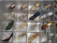 Miniture shoe collection.