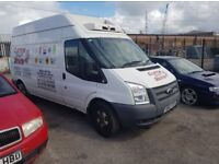 Ford Transit Fridge Freezer 2013.