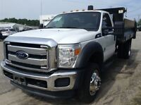 2012 Ford F-550 CHASSIS CAB Low K 6.7 Diesel !! Lets Get Working