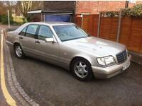 Mercedes Benz S class 1 years mot full service history