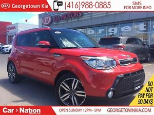 2016 Kia Soul SX | NAVI | LEATHER | PANOROOF | BACK UP CAM