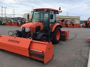 2014 Kubota L6060 Tracteur / Gratte Ext / Souffleur