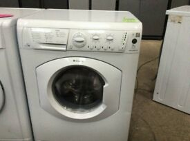 Free Standing Hotpoint Aquarius 7/5kg Washer&Dryer, 1200 rpm in white with LED display