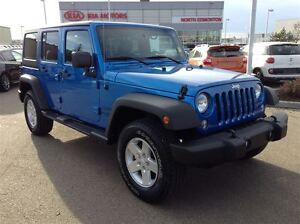 2015 Jeep WRANGLER UNLIMITED Sport | 4WD | Soft Cover Included |