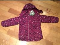 Brand new Crivit Ski Girl's Jacket