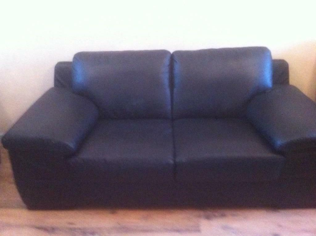 Wide Arm Two Seater Leather Sofa In County Antrim Gumtree