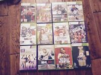 Xbox 360 with kinect sensor,4 controllers,22 games and many more