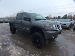 2014 Nissan Titan PRO 4X / LIFTED / LEATHER / NAV / ROOF