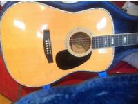 Martin organisation-1979 Alpha guitar (688S model D-41 custom type all solid German spruce/maple)