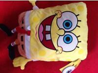 Giant Spongebob Squarepants hot water bottle