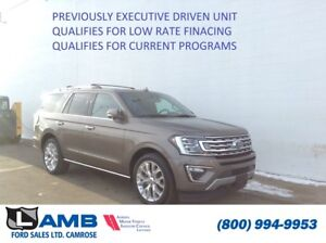 2018 Ford Expedition Limited 4x4 *Previous Executive Driven Vehi