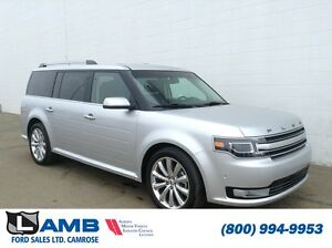 2016 Ford Flex Limited AWD 3.5L Ecoboost Navigation Moonroof Hea