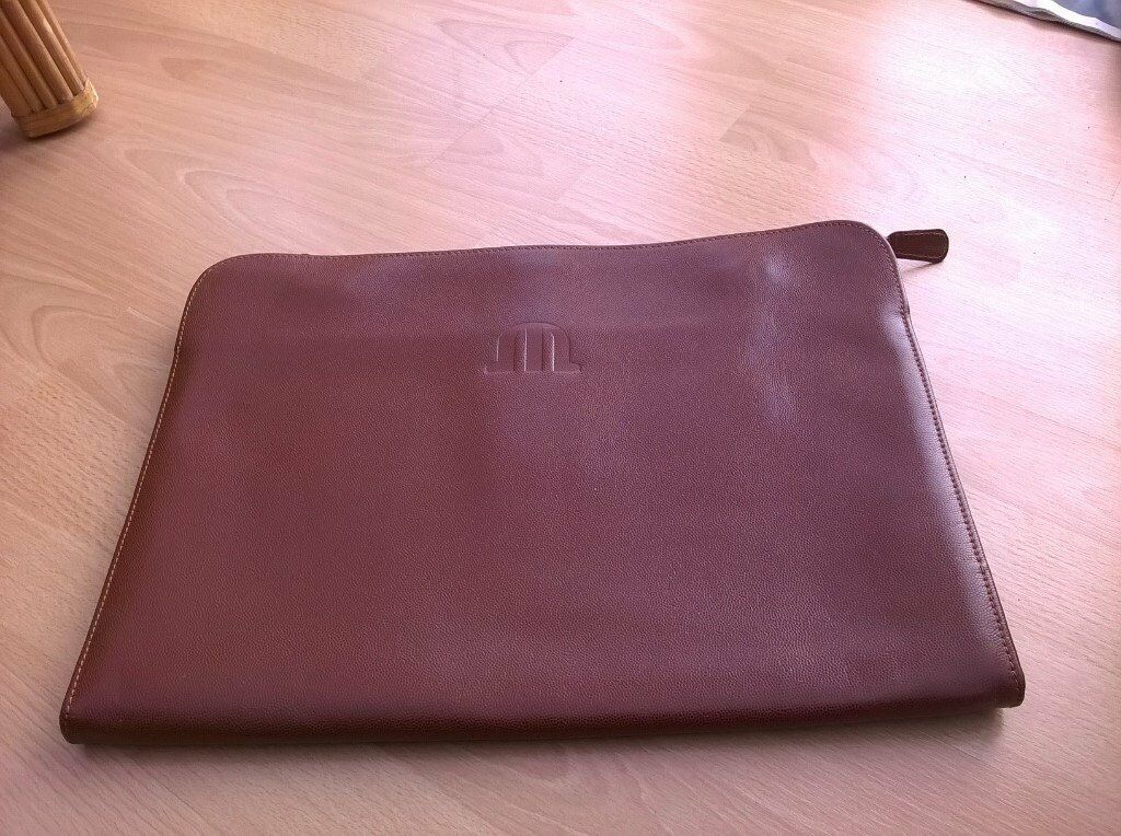 Brown Leather Document Folder