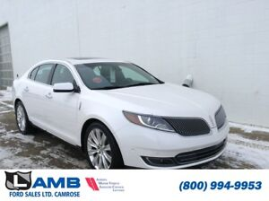 2013 Lincoln MKS AWD with Navigation, Active Park Assist, Lane K
