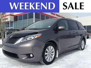 2015 Toyota Sienna XLE 7PASS AWD | REMOTE START | HEATED LEATHER