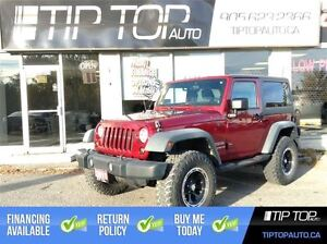 2011 Jeep Wrangler Sport ** A/C, Lifted, Rims, Manual **