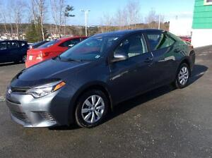 2015 Toyota Corolla LE AUTOMATIC - WITH AIR CONDITION AND BACK U