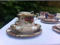 beautiful tea sets perfect for weddings and tea parties
