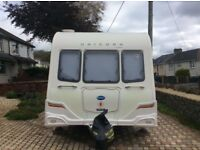 Bailey Unicorn Caravan