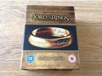 Lord of the Rings extended edition on BLU-RAY - Complete