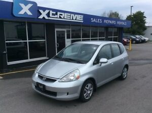 2007 Honda Fit LX/MANUAL/ CERTIFIED/CAR-PROOF