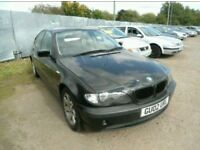 BREAKING BMW BLACK SAPHIRE E46 381i SE 2.0 140BHP 2002 SALOON MOST PARTS AVAILABLE 93k MILES