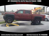 2014 Chevrolet Silverado 1500 Lift Kit, Custom Wheels