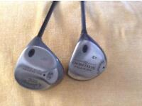 Two Callaway one Driver 3wood .in good condition