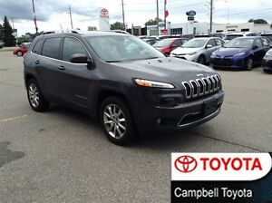 2014 Jeep Cherokee LIMITED--4X4--NAV--HEATED LEATHER