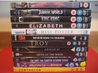 MOVIES on DVD - Single or Multiple Buys