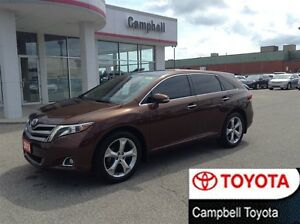 2013 Toyota Venza NAV PWR LIFT GATE LEATHER ROOF LOCAL TRADE