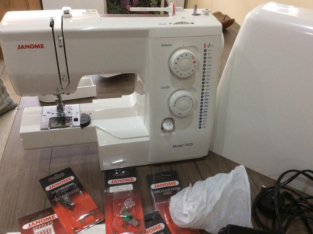 Janome 40 Sewing Machine In Whiston Merseyside Gumtree Awesome Janome 7025 Sewing Machine Instructions