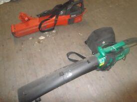 leaf blower / hoover