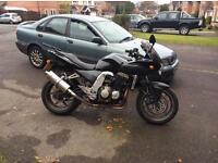 Kawasaki Z750S Black 2006 . Superb Sell or Swap Tourer TDM or BMW