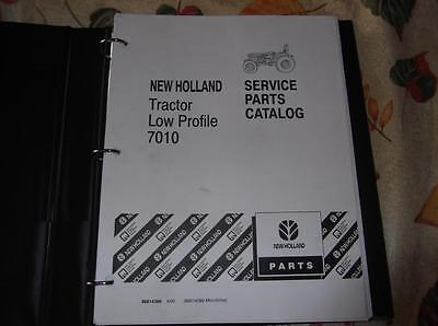 New Holland 7010 Low Profile Tractor Parts Catalog Manual