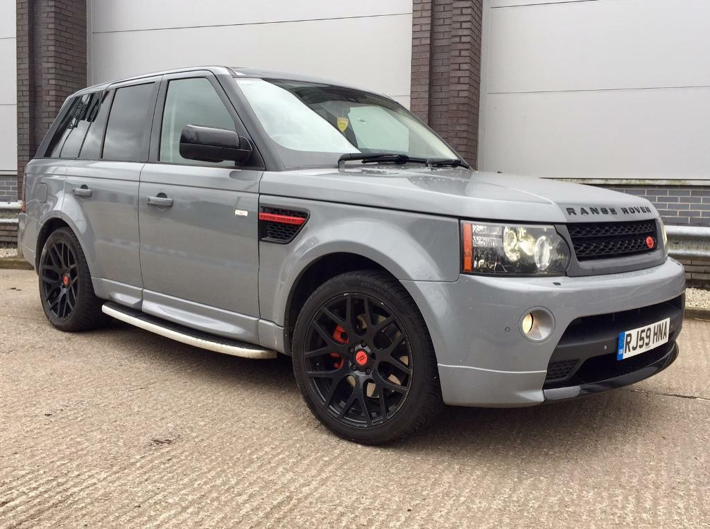 range rover sport hse tdv6 autobiography upgrade in nardo grey genuine facelift alcantara. Black Bedroom Furniture Sets. Home Design Ideas