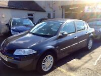 2007/ 07 RENAULT MEGANE privilege 1.6 with fully loaded car top of the range £2150