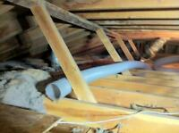 ATTIC INSULATION VACUUM REMOVAL & INSTALL