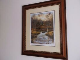 Shades of Autumn (Wellow Brooke) Signed Limited edition by Roger F Jones