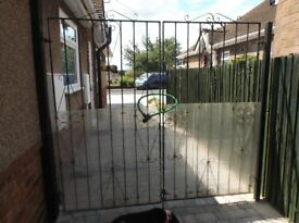Driveway Gates. 6ft high. Each gate 38 inches wide.