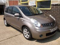 Nissan Note Tekna Automatic 1.6 2008 (08) - Debit/Credit Cards Accepted - Finance - Part Ex Welcome