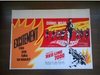 the naked pray / red line 7000 ' 1960s film poster